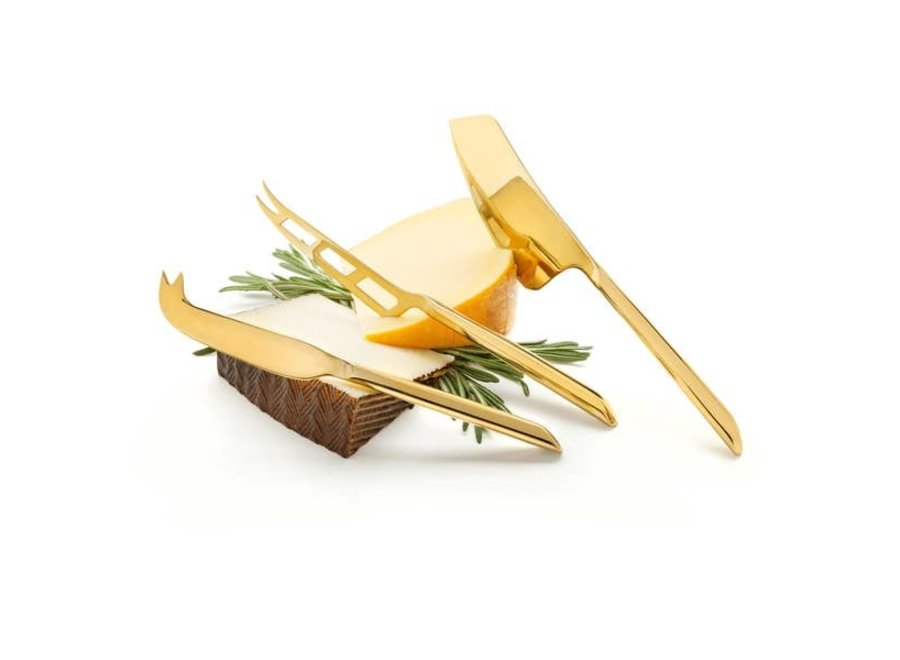Belmont™ Gold Plated Knife Set