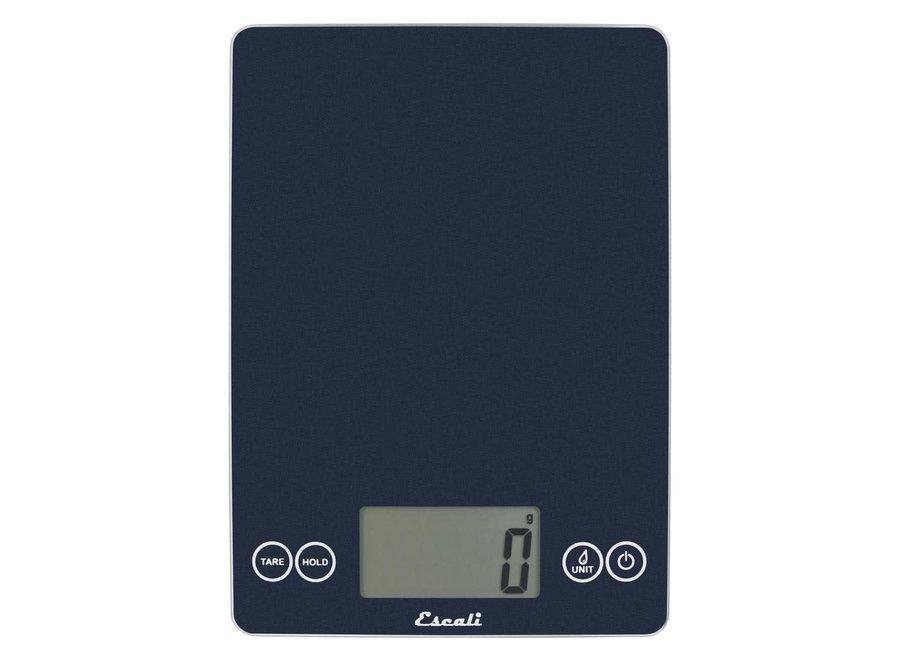 Metallic Arti Blue Mirage Glass Digital Kitchen Scale