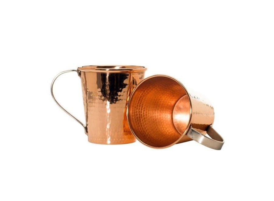 Moscow Mule Mug, Stainless Steel Handle, 18 oz