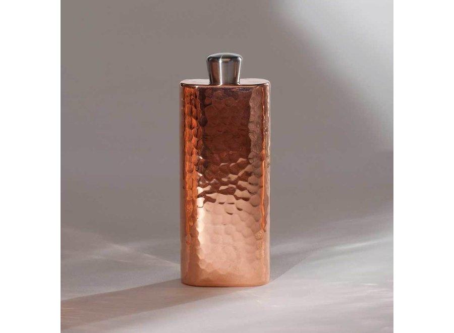 Copper Espadin Boot Flask