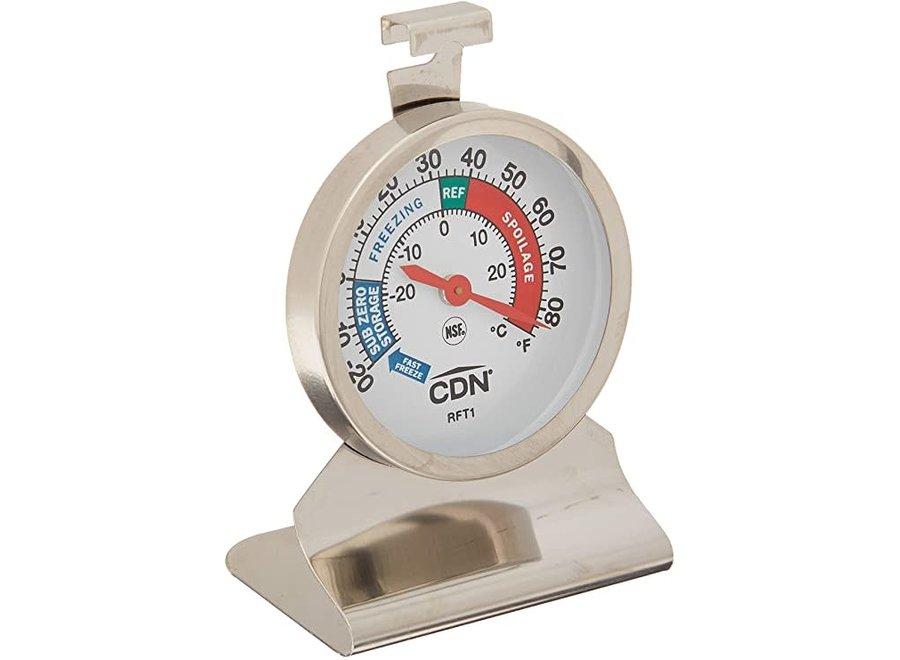 Heavy Duty Refrigerator Freezer Thermometer