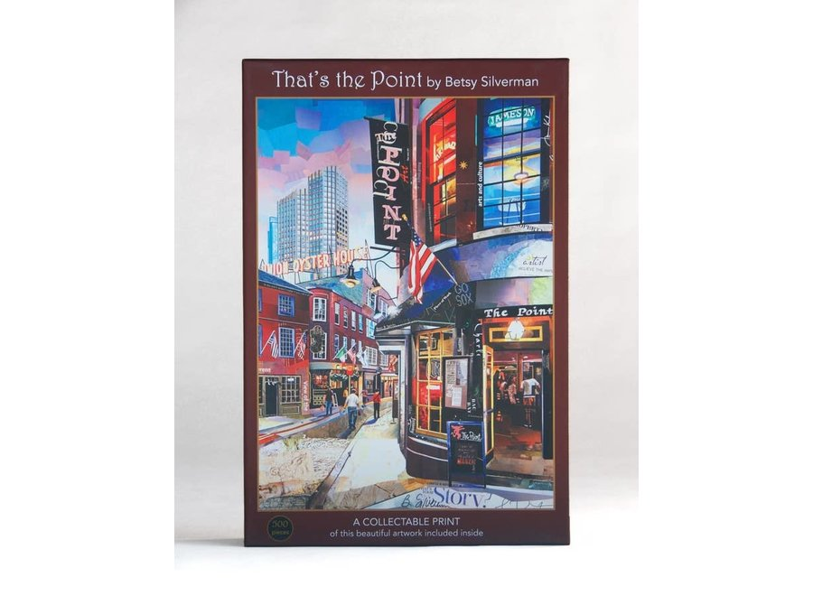 That's the Point 500-Piece Velvet-Touch Jigsaw Puzzle