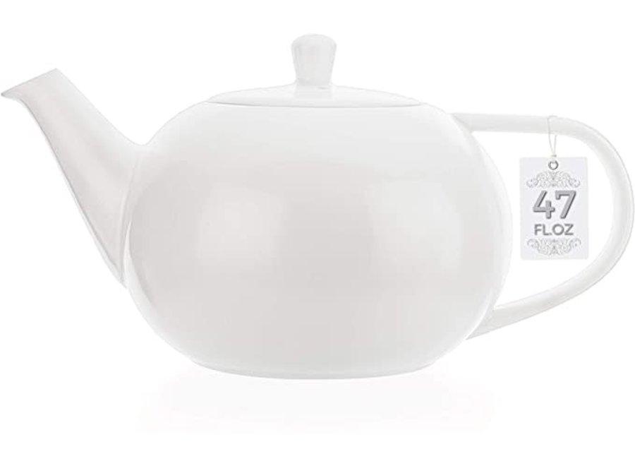 White English Style Teapot