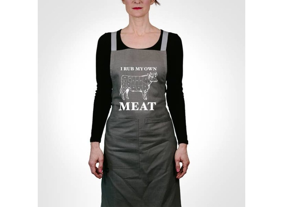 Apron I Rub My Own Meat