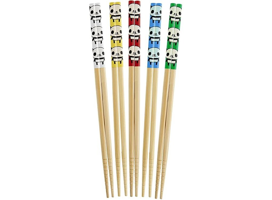 Panda Chopsticks, Set of 5