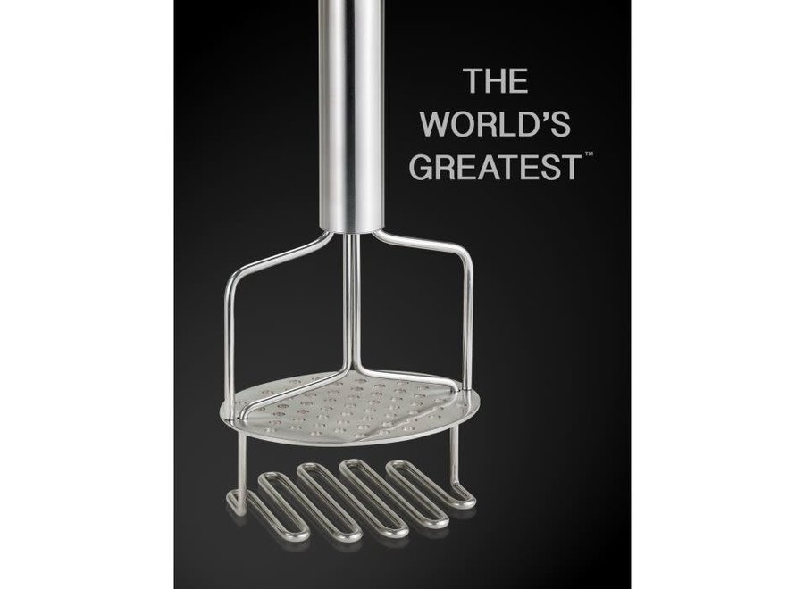 World's Best Dual Action Potato Masher