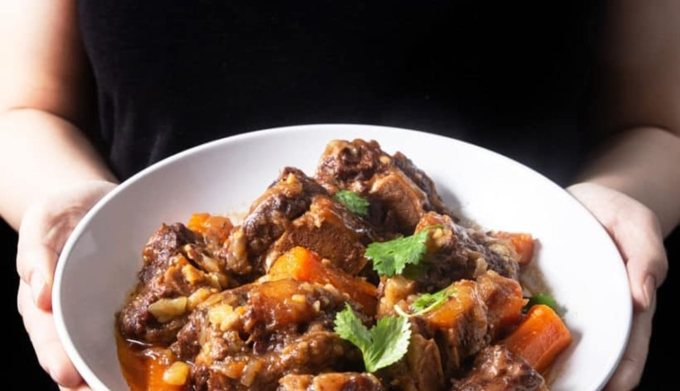 Pressure Cooker Oxtails