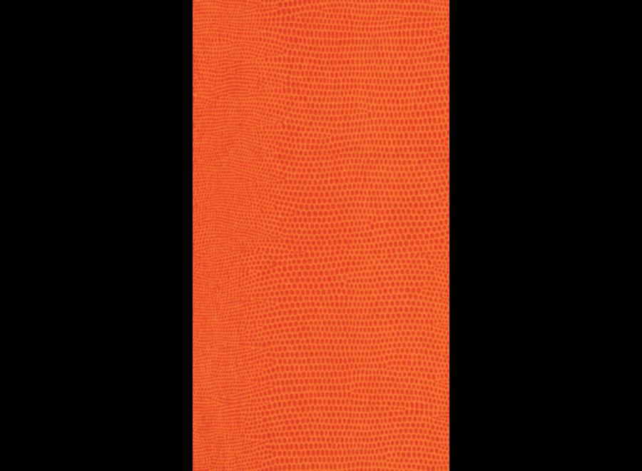 Lizard Paper Linen Guest Towel Napkins in Orange - 12 Per Package