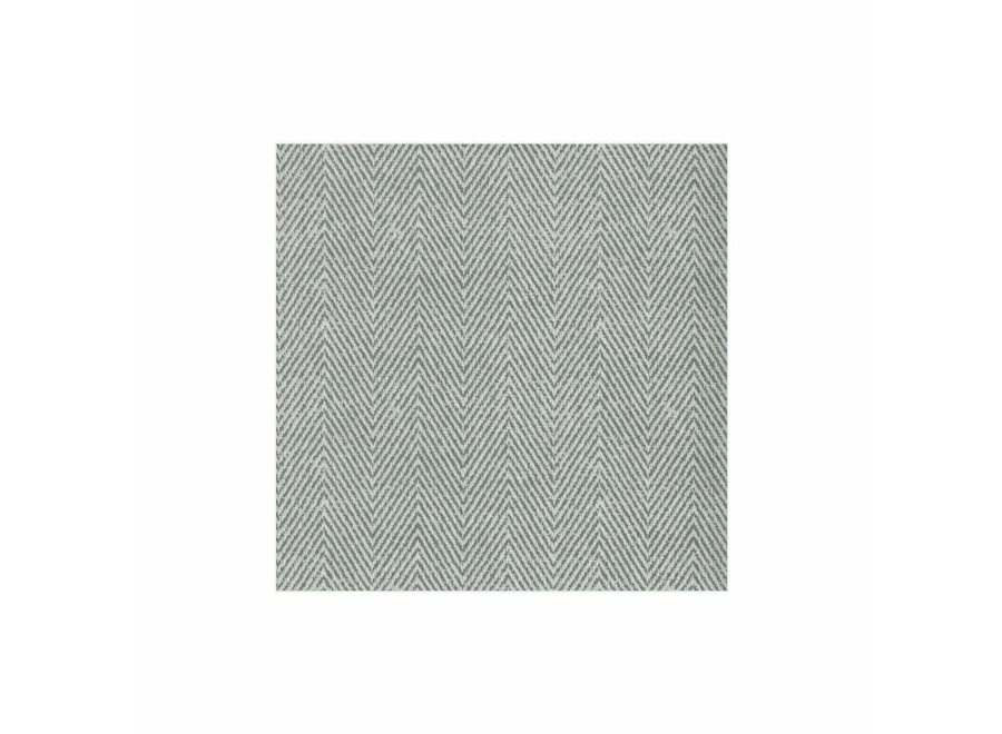 Jute Paper Linen Cocktail Napkins in Charcoal - 15 Per Package