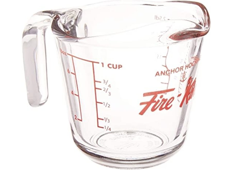 Fire-King Measuring Cup, Glass, 4-Cup