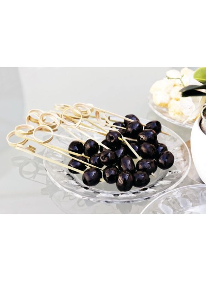 """Bamboo Ring Picks - 4.5"""" 50 Count"""