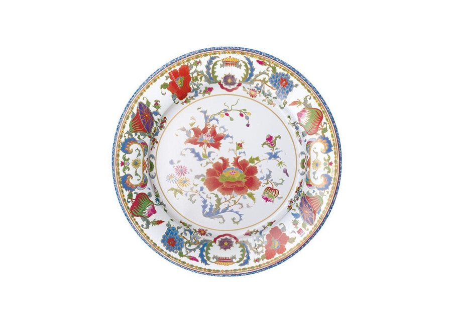 Chinese Ceramic Paper Salad & Dessert Plates in White - 8 Per Package