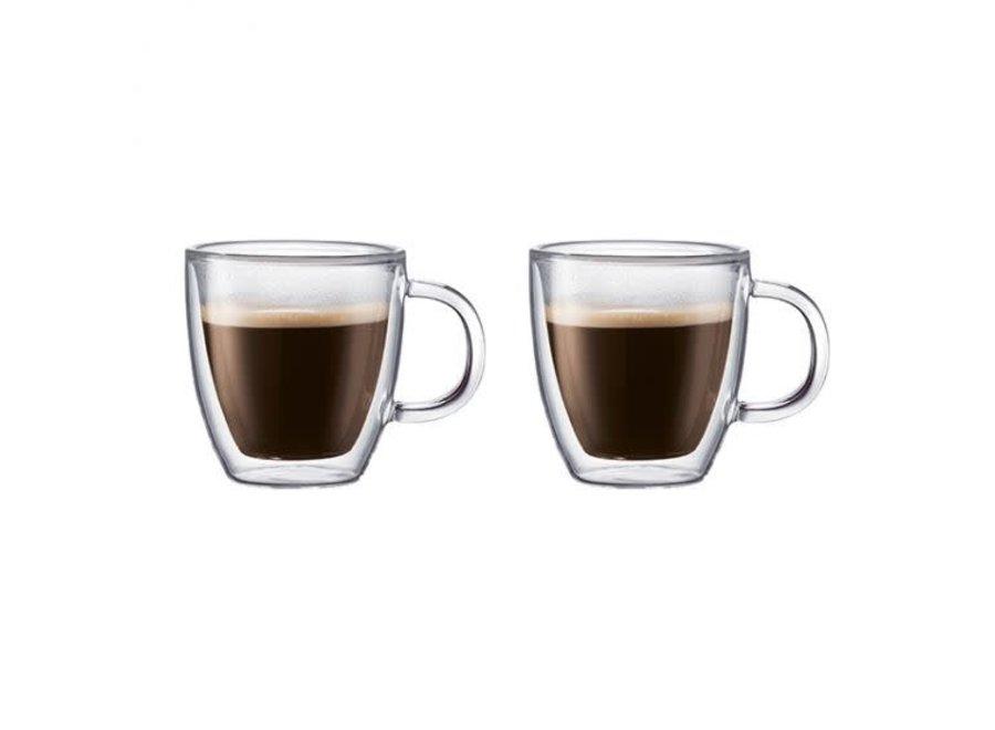 Bistro 2 pcs mug, double wall, 0.3 l, 10 oz