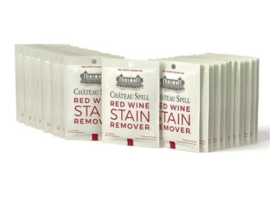 Chateau Spill Red Wine Swipe 5 pack