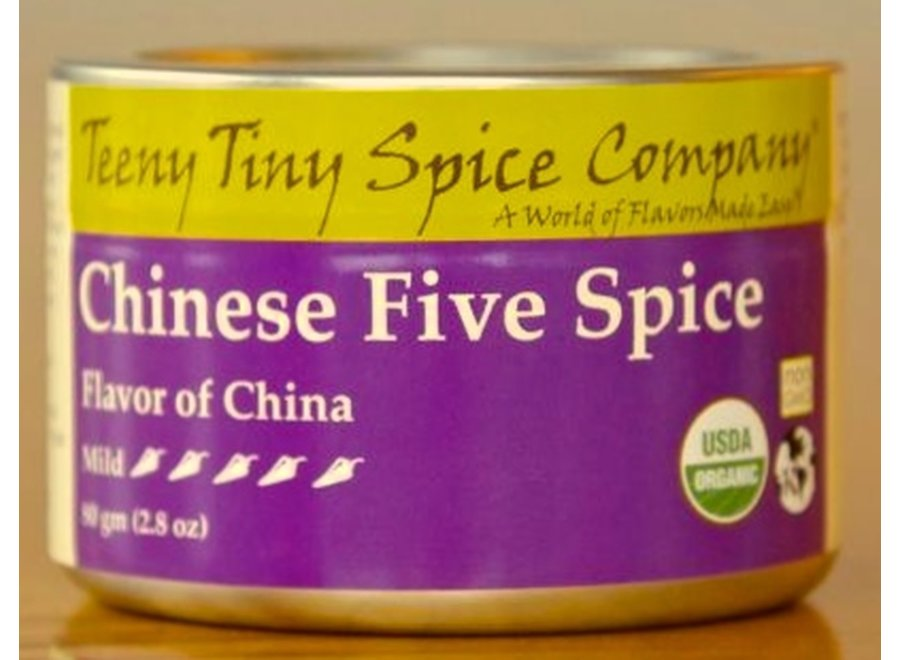 Organic Chinese Five Spice 2.8oz