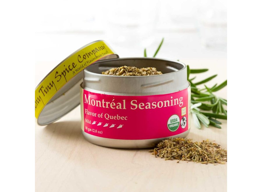 Organic Montreal Seasoning 2.8 oz