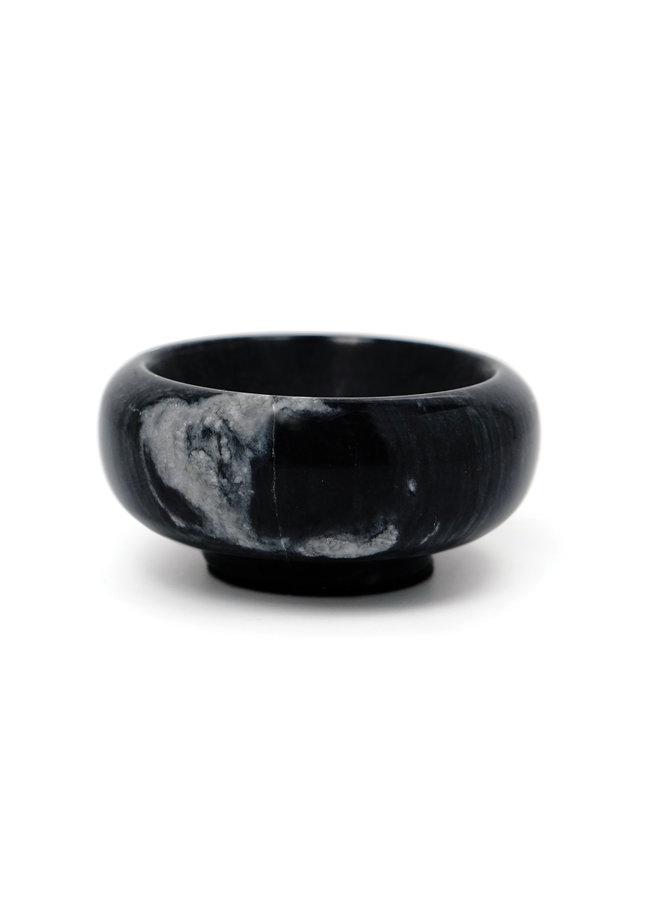 Black Marble Salt & Herb Bowl 1oz