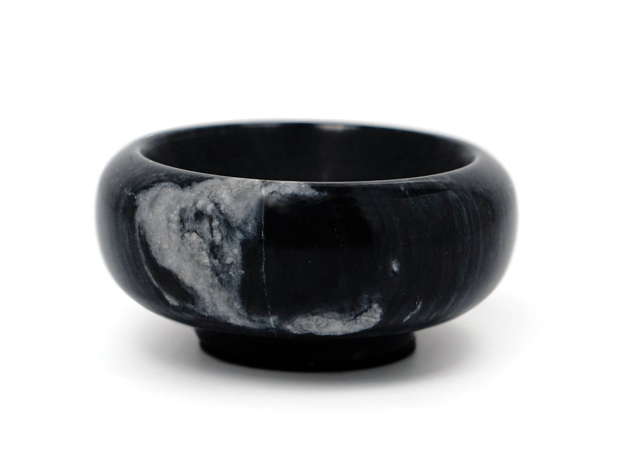 Black Marble Salt & Herb Bowl 1oz