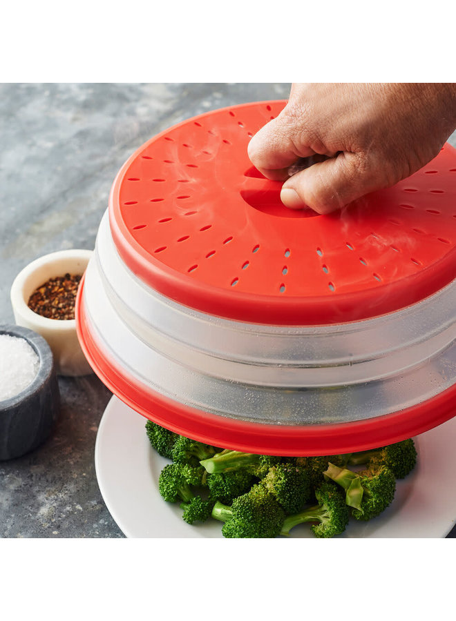 Collapsible Microwave Food Cover
