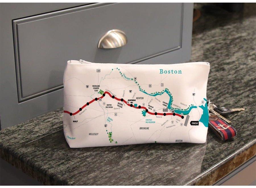 Makeup Bag Marathon Map