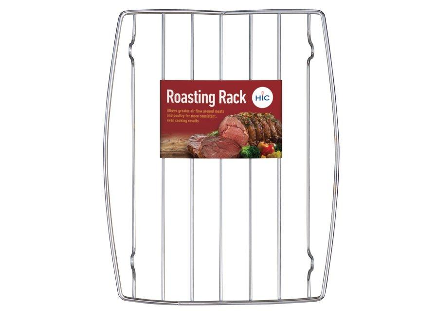 "Concave Roasting Rack 8"" x 10 3/8"""