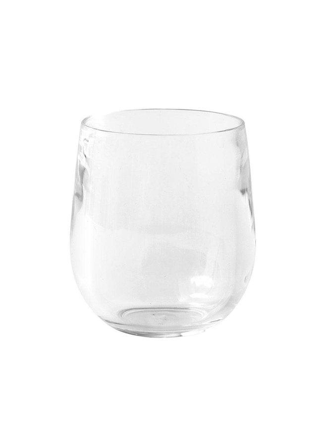Acrylic 12oz Tumbler Glass in Crystal Clear - 1 Each