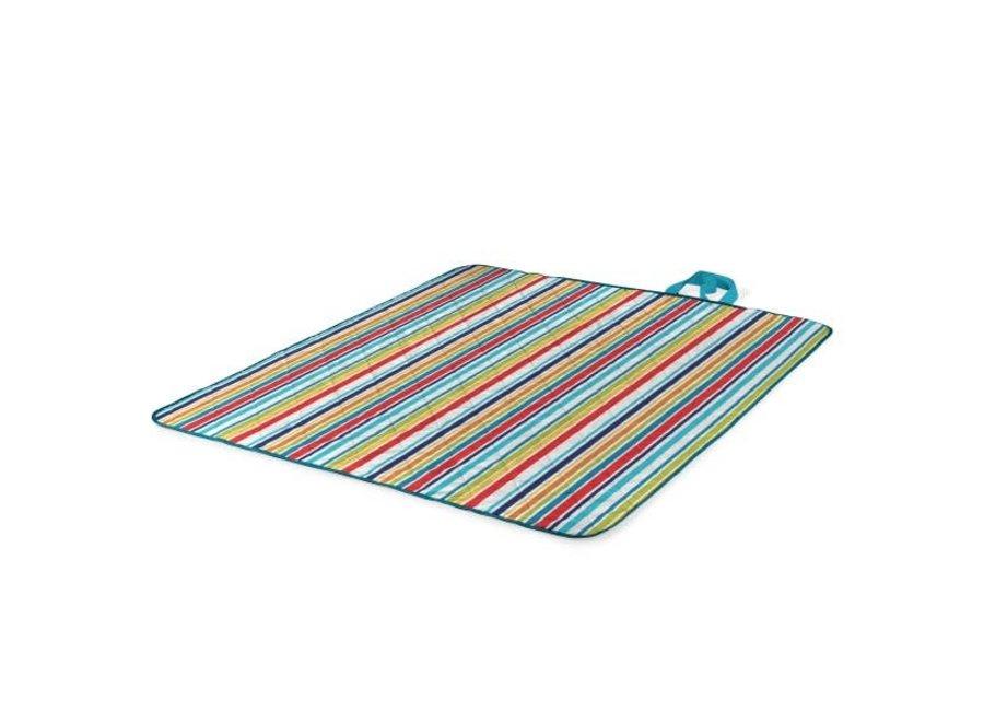 Vista Outdoor Picnic Blanket & Tote - Aqua