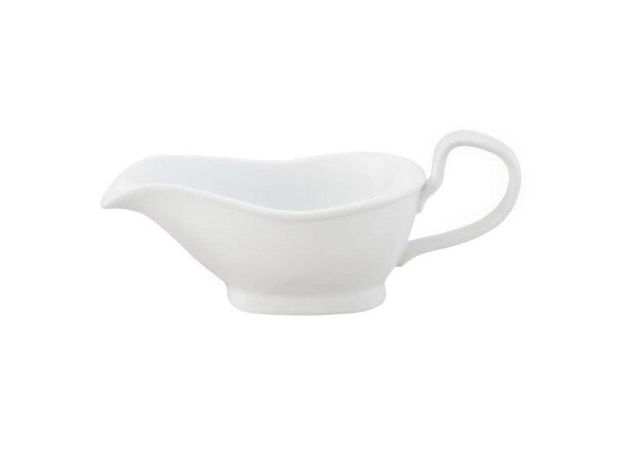 Gravy Boat, White Porcelain 8oz