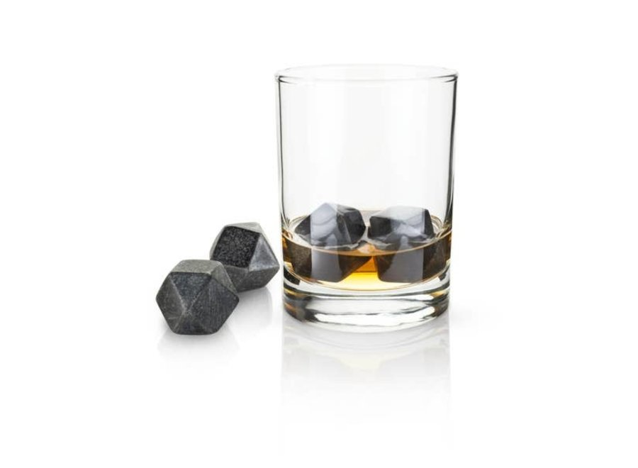 Glacier Rocks® - Hexagonal Ice Cubes (Set of 4)