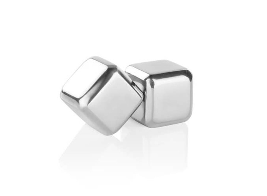 Glacier Rocks®: Large Stainless Steel Cubes