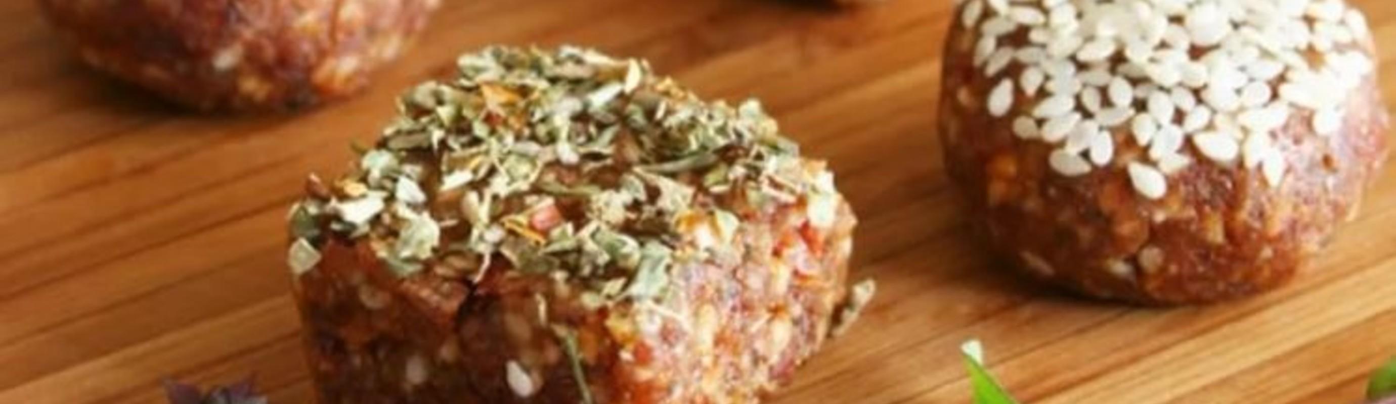Sun Dried Tomato Raw Vegan Truffles