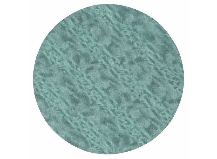 Snakeskin Felt-Backed Placemat in Mist - 1 Each