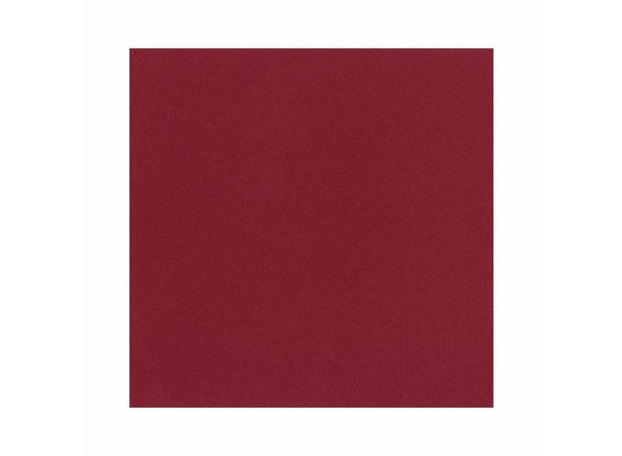 Paper Linen Solid Dinner Napkins in Cranberry - 12 Per Package
