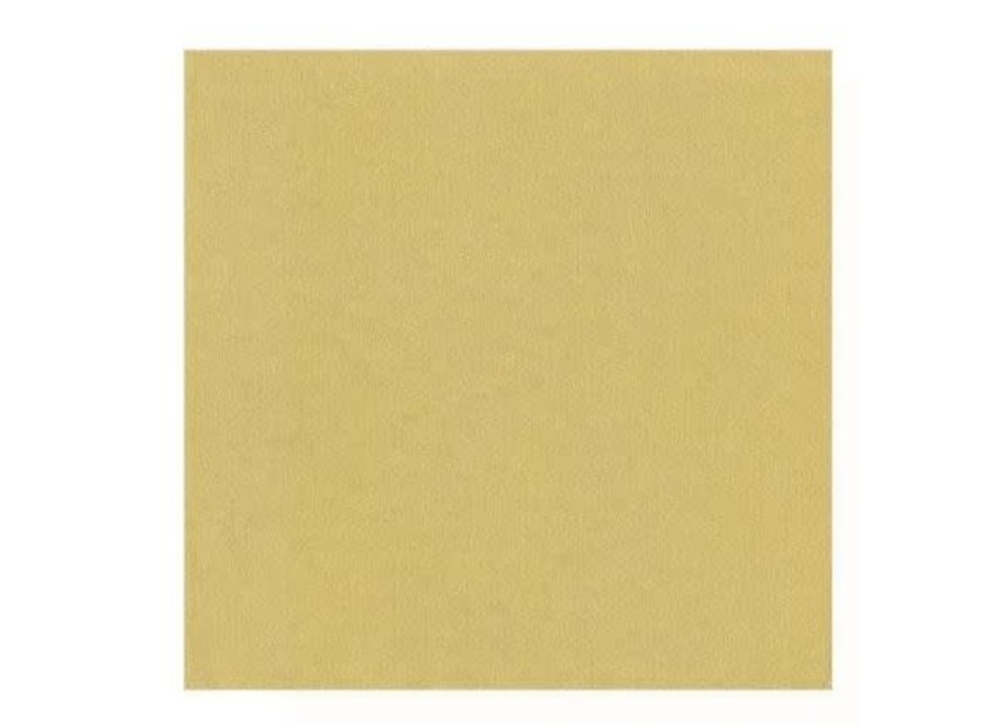 Paper Linen Solid Cocktail Napkins in Gold - 15 Per Package