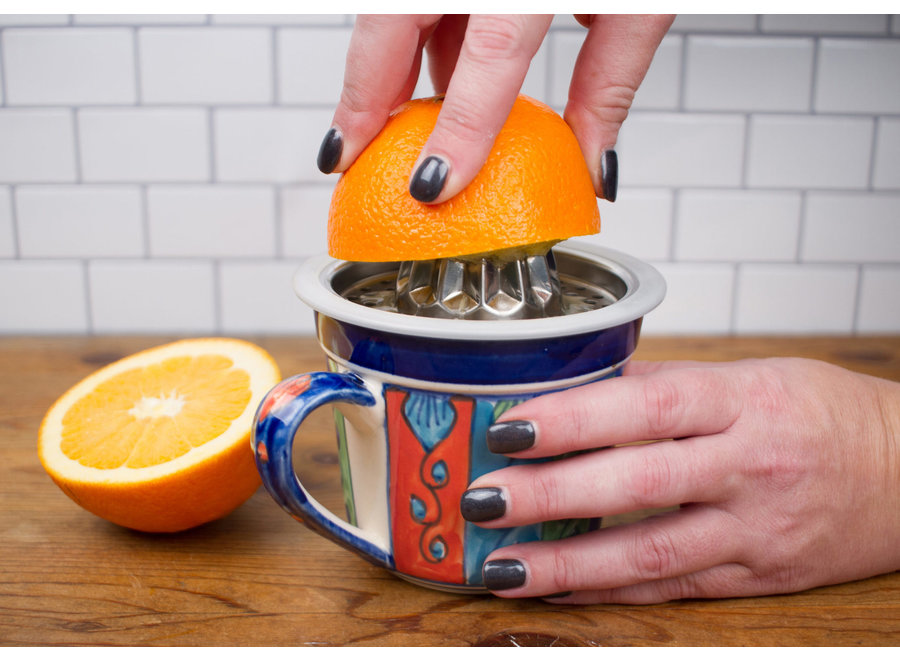 Citrus Juicer for Measuring Cup Stainless Steel