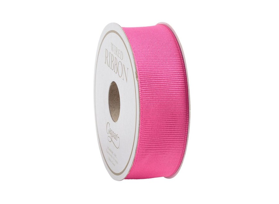 Narrow Fuchsia Grosgrain Ribbon - 8 Yard Spool