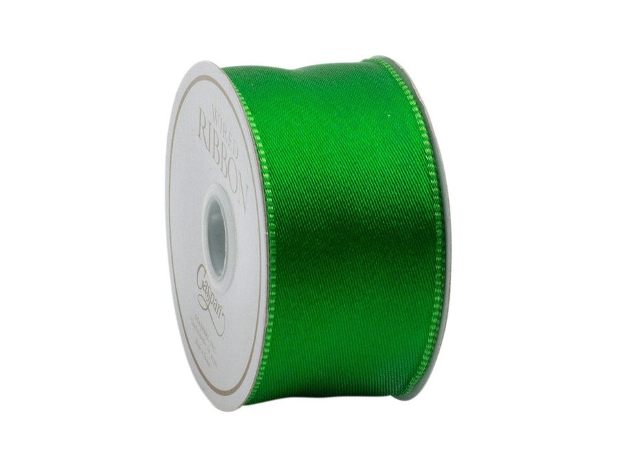 Green Reversible Ribbon - 6 Yard Spool
