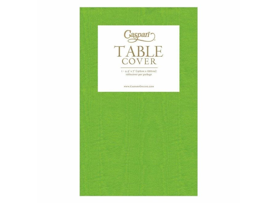 Moiré Paper Table Cover in Moss Green - 1 Each