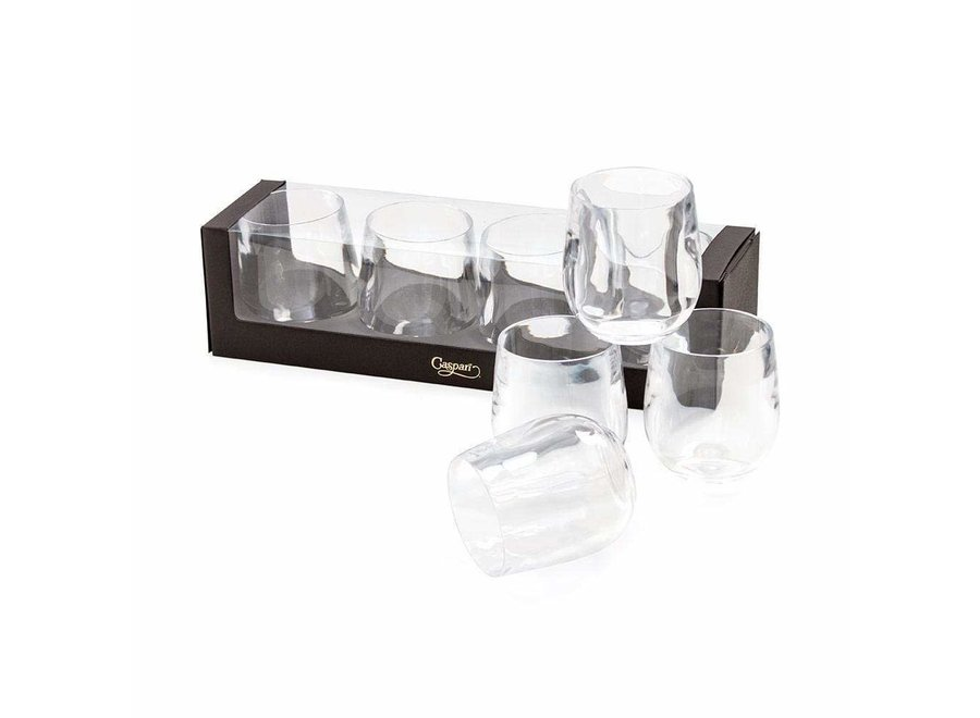 Acrylic 12oz Tumbler Gift Set in Crystal Clear - Set of 4