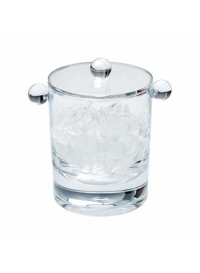 Acrylic 60oz Ice Bucket & Lid in Crystal Clear - 1 Each