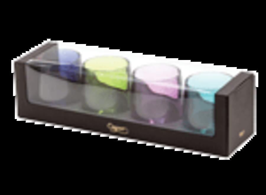Jewel Tones Acrylic Tumbler Gift set Acrylic 12 Oz Tumbler-Gift Set