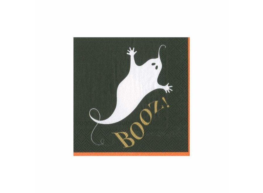 Booz Paper Cocktail Napkins - 20 Per Package