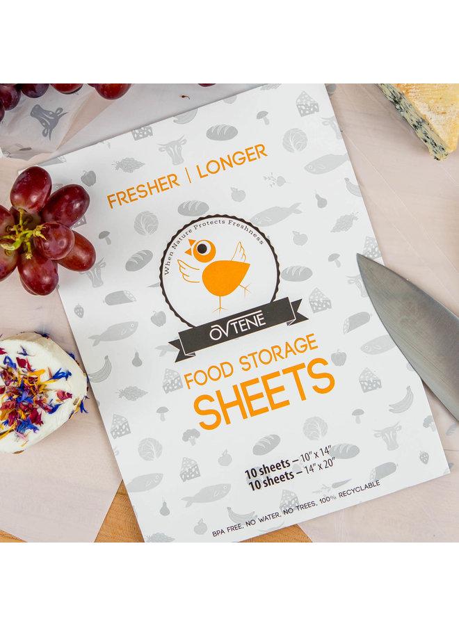 Food Storage Sheets