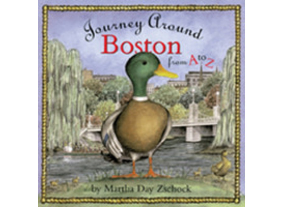 Book Journey Around Boston from A to Z