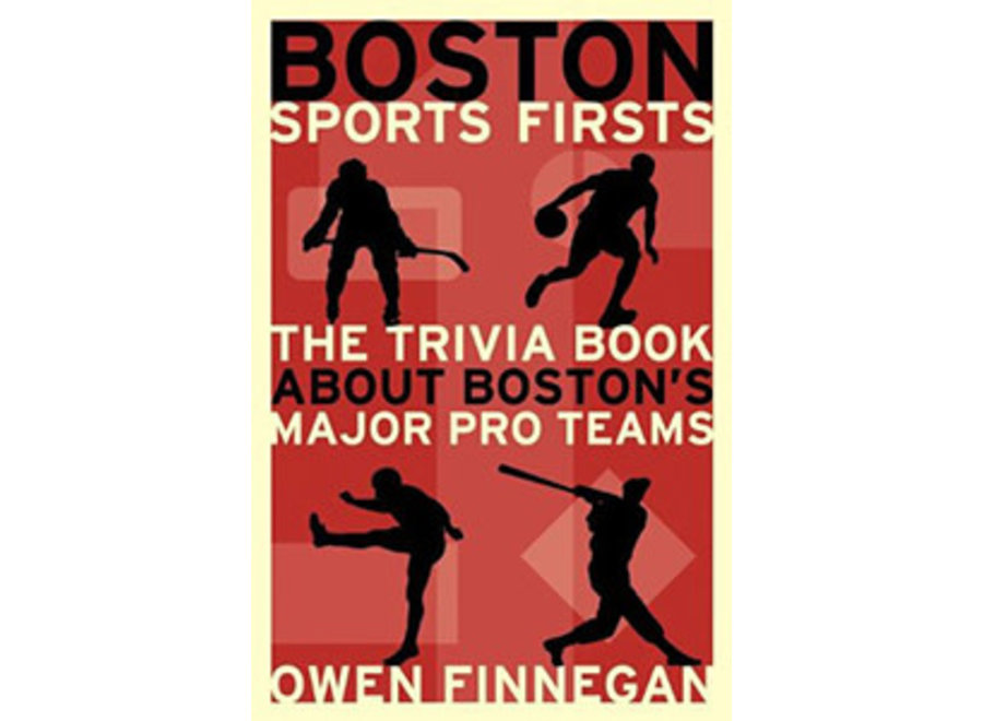 Book Boston Sports Firsts (paperback)