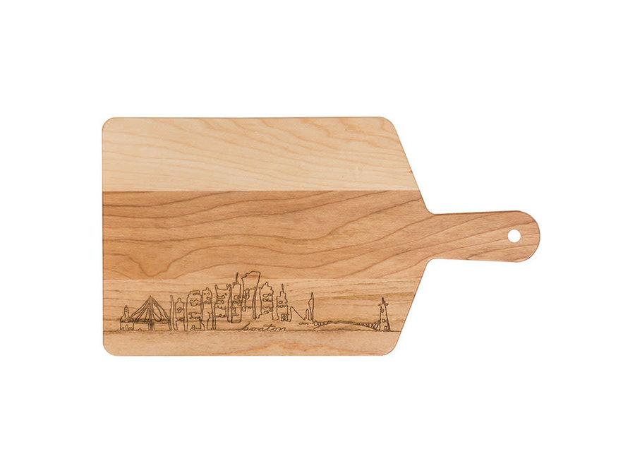 Maple Handle Cheese Board-Boston