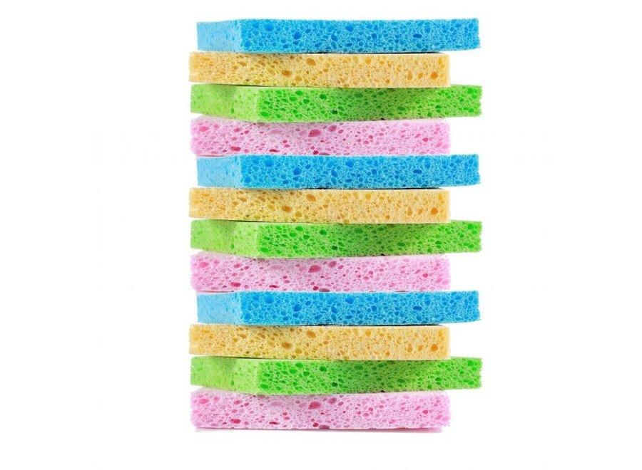 Colored Pop Up Sponge