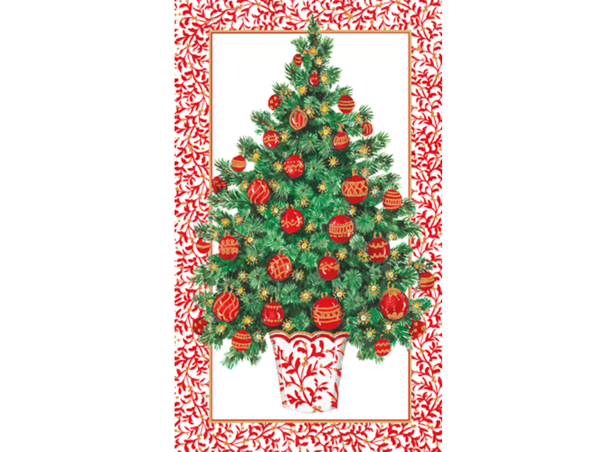 Decorated Tree TTop Paper Match Boxes