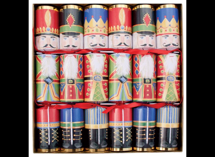 Nutcrackers Christmas Crackers - 6 Per Box