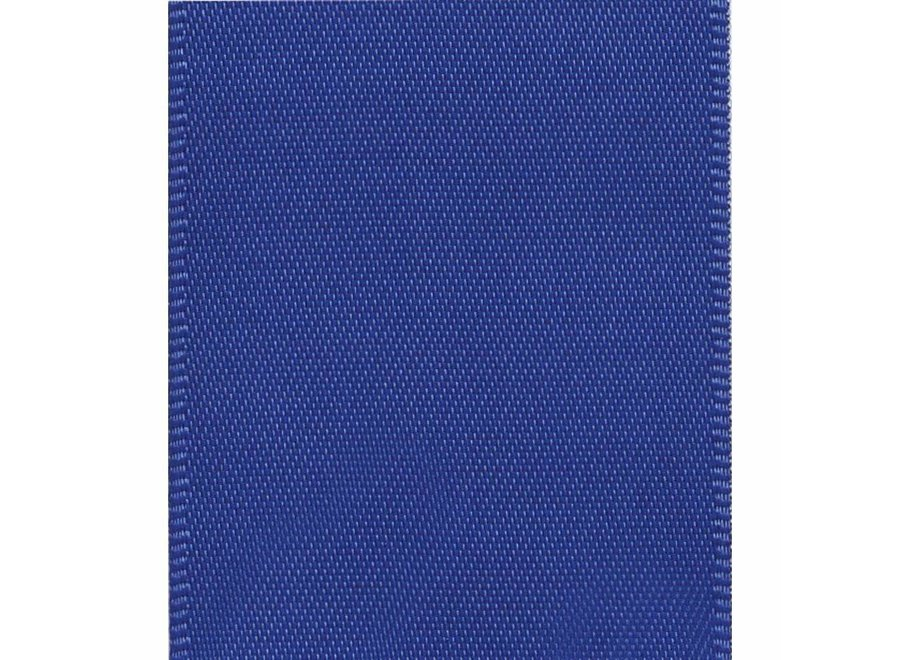Solid Royal Blue Ribbon - 9 Yard Spool Wired